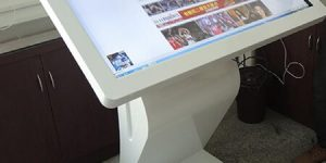 32-inch interactive touch kiosc sb service rental