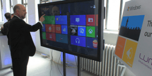 65-inch interactive touch screens rental