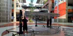 Audiovisuals rental for fairs