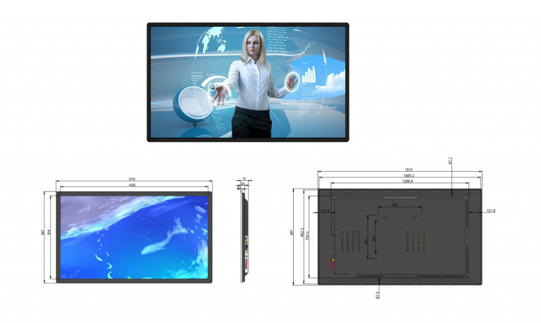 Touch screens rental sb service
