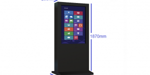 interactive outdoor touch screens customized